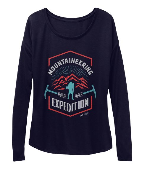 Mountaineering High Rock Expedition Dture Midnight T-Shirt Front