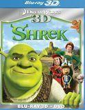 Shrek 3D [2 Discs] [3D] [Blu-ray/DVD] [Blu-ray/Blu-ray 3D/DVD] [Eng/Fre/Spa] [2001]