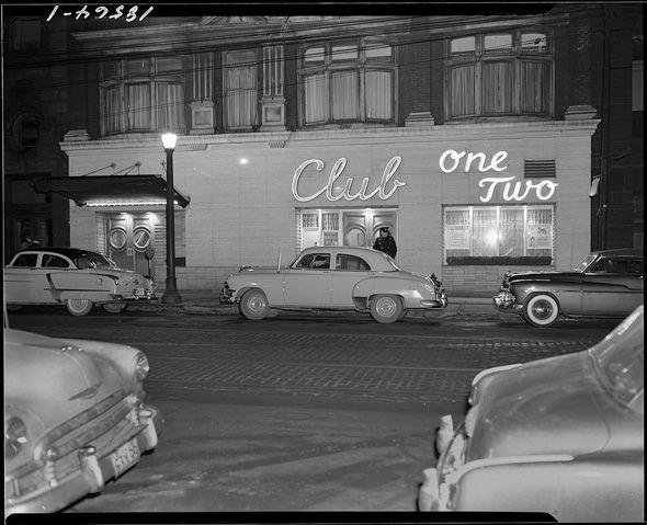 Club One Two, 1952 #Vintage #Toronto
