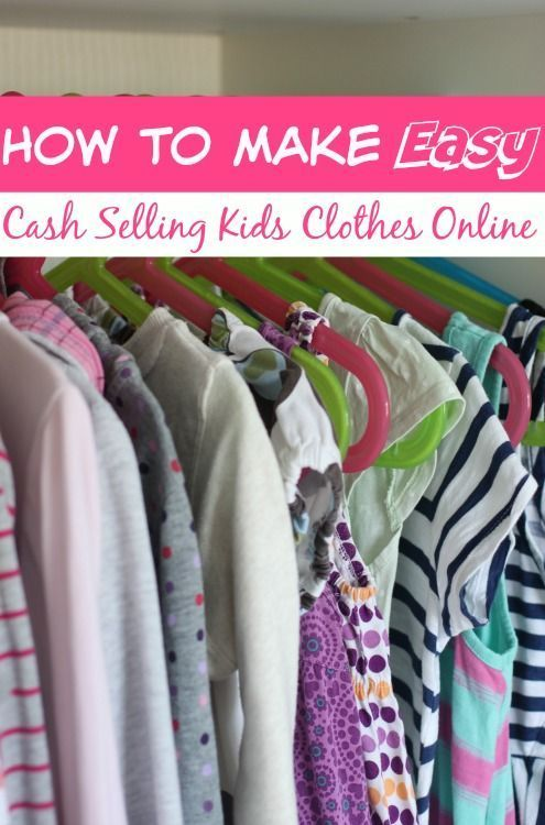 I add an extra couple of hundred dollars to my income each month selling used kids clothes. In this post? I give you my 5 step process for making EASY money selling kids clothes online!