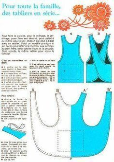 tabard apron pattern - Google Search