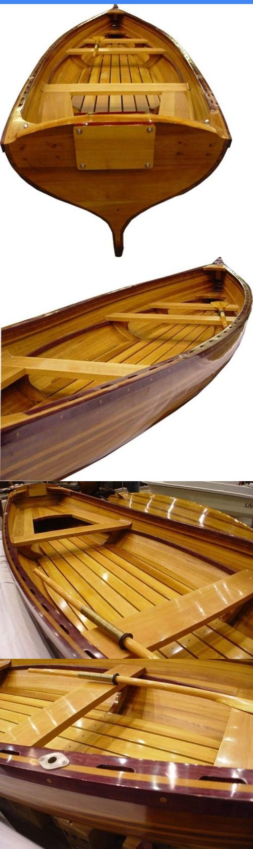 Canoes 23800: Dinghy Real Whitehall 17-Ft 4-People Marine Vanish Varnish Epoxy Resin Str BUY IT NOW ONLY: $18529.0