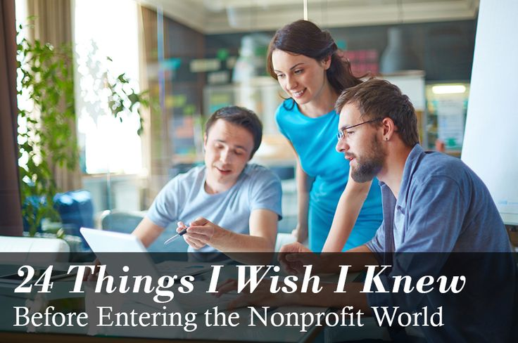 If you could go back in time, what's one thing you'd tell your younger self about the nonprofit world?