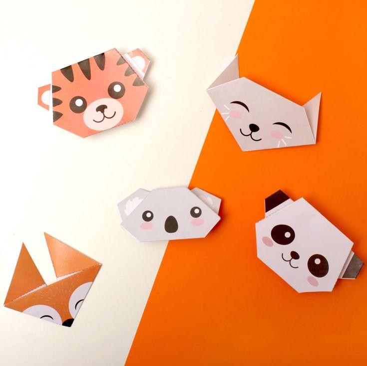 FREE printable animal origami templates