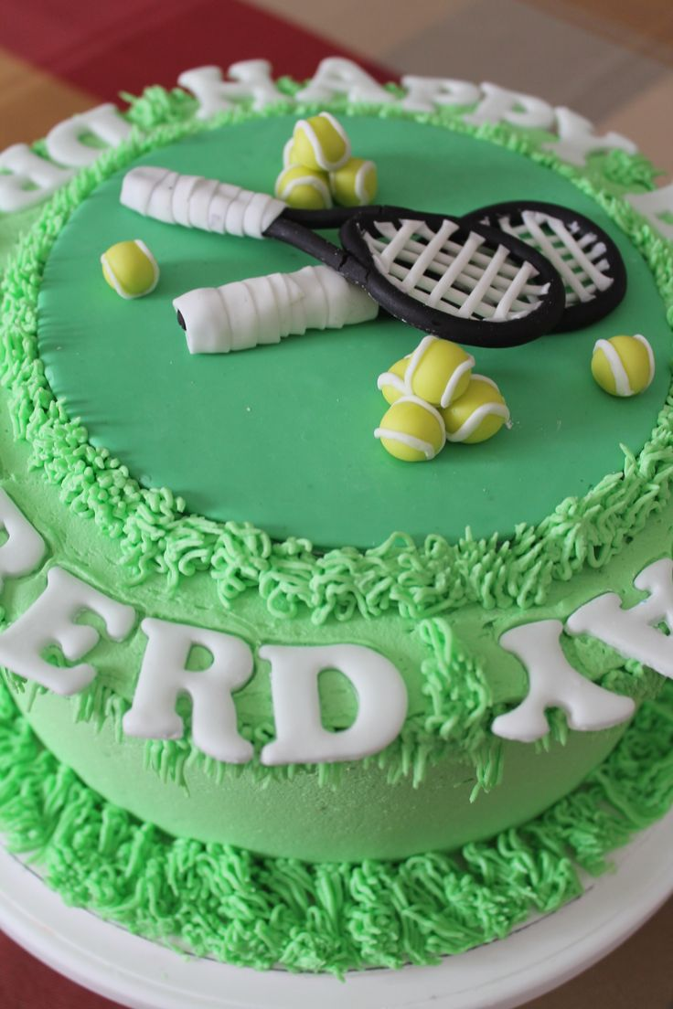 Tennis Themed Cake Cakes I Love Cake Themed Cakes