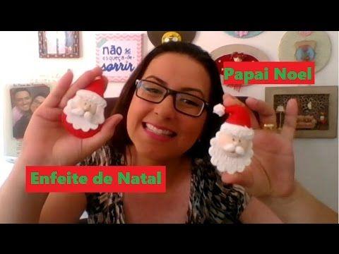 DIY - Enfeites de Natal - Estrelinha de Feltro - Passo a Passo - YouTube