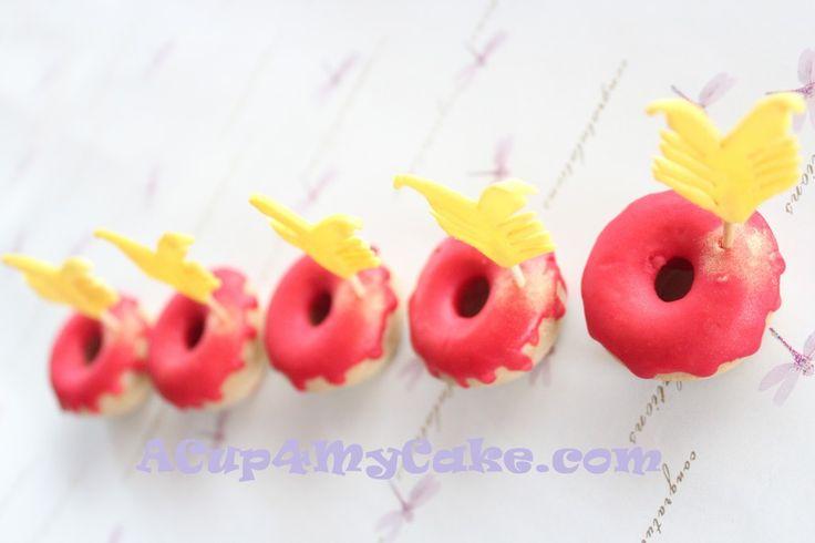 Valentine's Day Doughnuts II | My Sweet Baking | Pinterest
