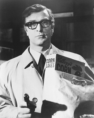 Michael Caine as Harry Palmer in 'The Ipcress File' (1965)
