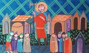 Szent László király legendája
