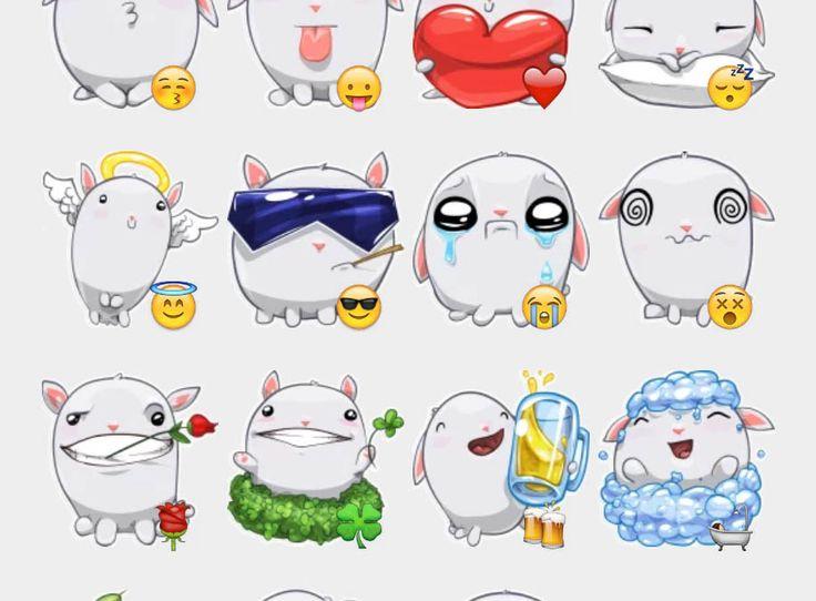Happy Stickers Set | Telegram Stickers