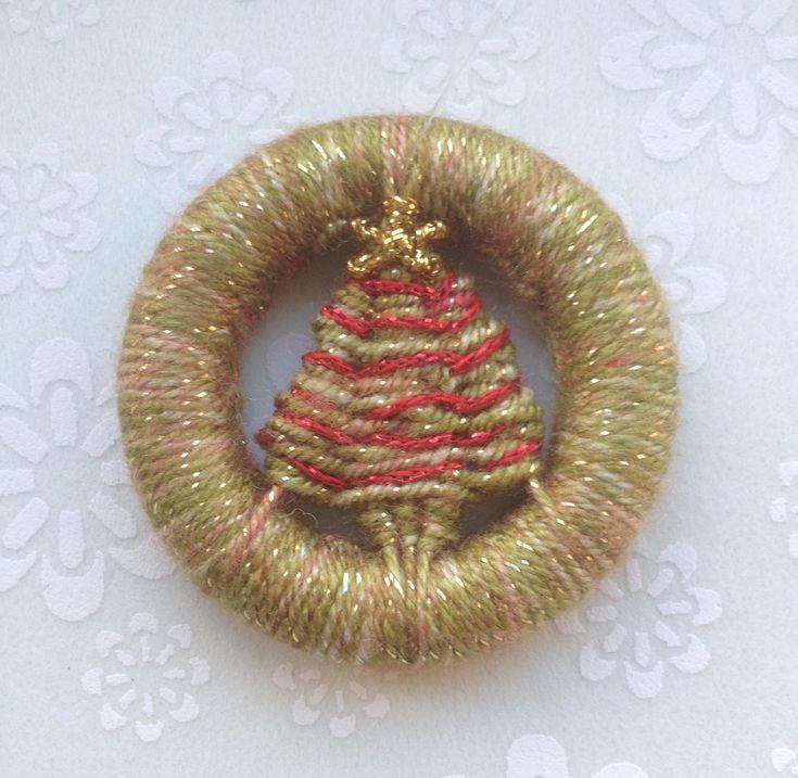 Dorset button Christmas tree AJ