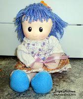 тестильная кукла своими руками