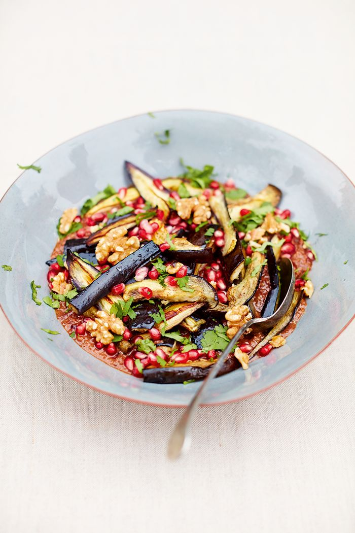 """It's our third and final share from Meera Sodha's new book Fresh India, out now. This gluten-free and dairy-free, fresh and delicious Aubergine Fesenjan. Meera Sodha's scrumptious Aubergine Fesenjan. Meera says: """"The first time I met my husband was in his kitchen. He was standing a"""