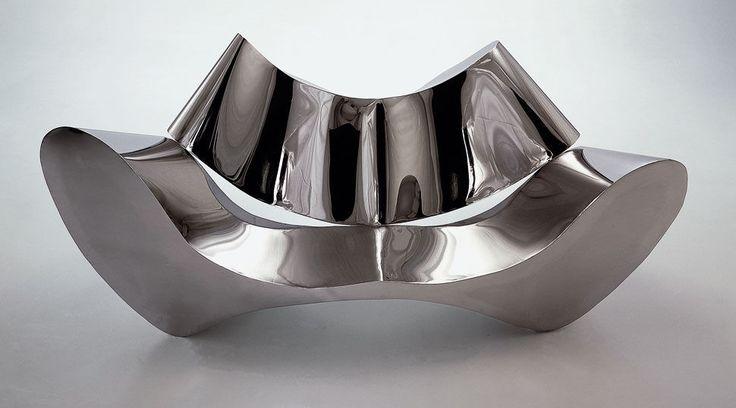 Canapé design original / en acier / par Ron Arad / 2 places - EUROPA - DRAENERT