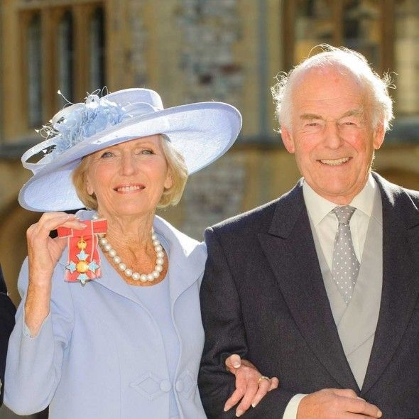 Mary Berry's husband proposed to her three times before she said yes