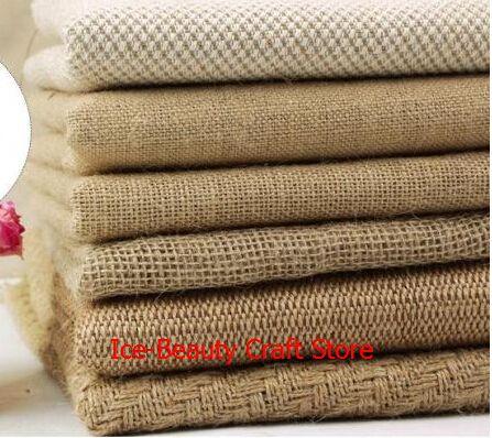 Купить товарБесплатная доставка специальный ткань мешки / джут / барлеп ткани / льняной ткани 100 * 160 см ( 1 м ) в категории Тканьна AliExpress.  2 pieces 160cmx50cm mint green stars Cotton Fabric Bedding Sheets Cloth Tilda TextileUSD 10.50/bagNewest 40*50cm Marine