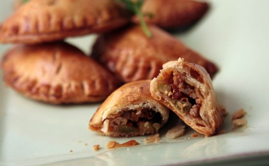 Sweet & Spicy Chicken Empanada's- Rick Bayless