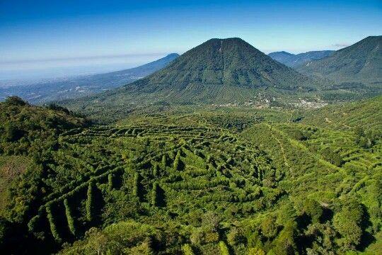 Montañas de Apaneca, ruta de las flores, El Salvador