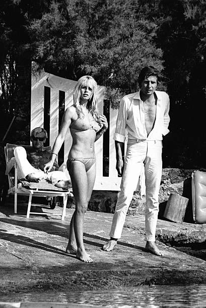 Brigitte Bardot et Gunter Sachs La Madrague