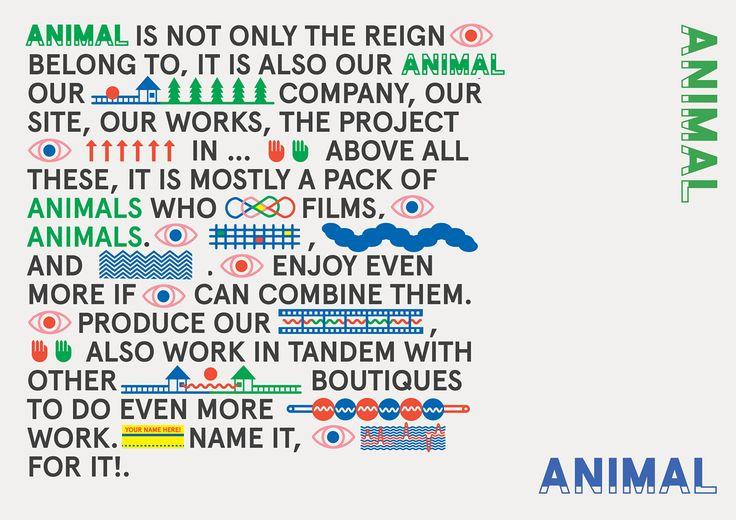 Animal Studio Iconography on Behance