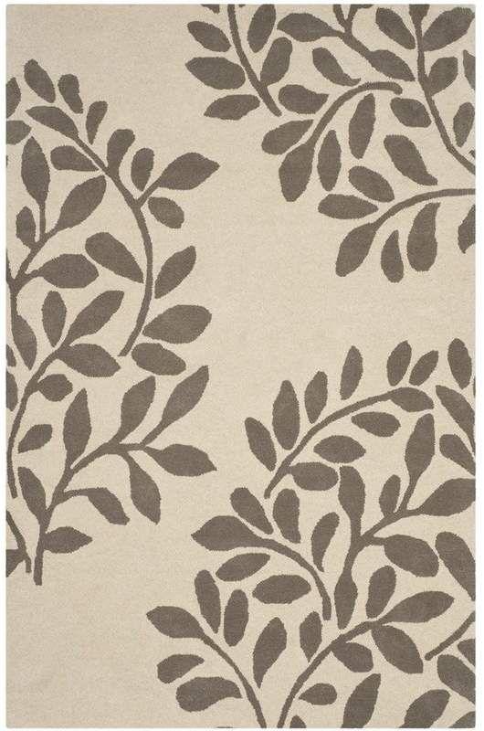 Martha Stewart Kintore Hand Tufted Mushroom Area Rug Wool Area