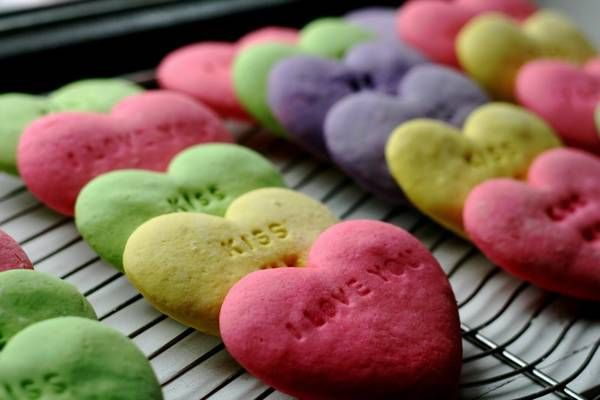 conversation heart cookies {perfect for valentine's day}