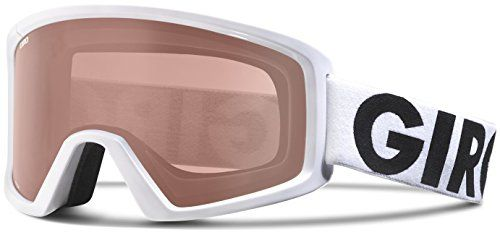 Giro Blok Snow Goggle - Men's White Futura with Polarized Rose Lens ** Check out this great product.
