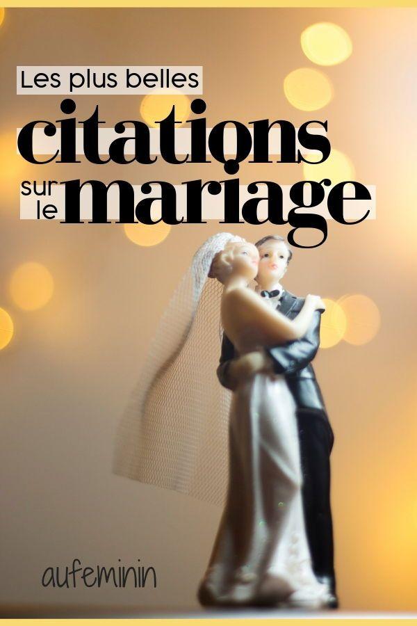 Les Plus Belles Citations Sur Le Mariage Citations