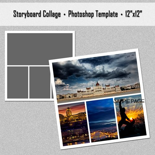 Best  Photoshop Collage Template Ideas On   Photo