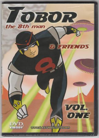 Tobor The 8th Man and Friends Volume One: (1965 in U.S.): DVD, EastWest DVD Release: 20??, New, MIP/Still Sealed, $5