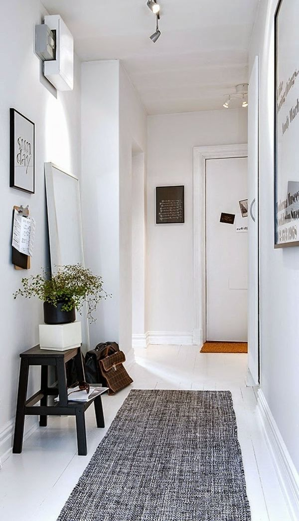 17 best images about couloir hallway on pinterest - Idee deco couloir sombre ...