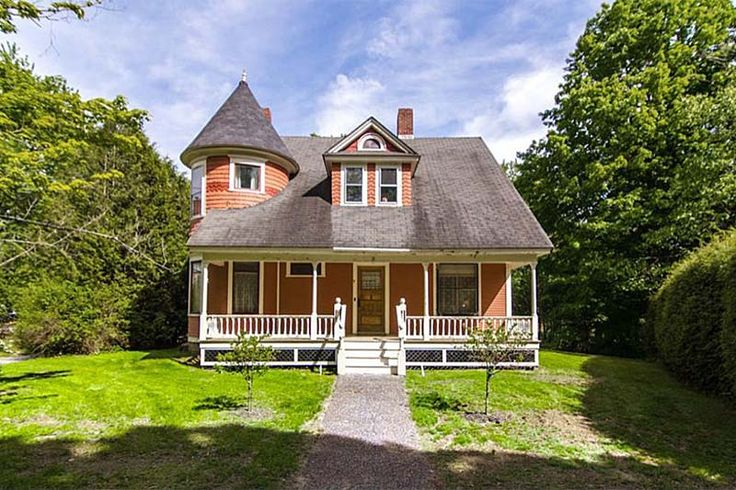 Stately Queen Anne Victorian, with a turret, in a quintessential New England Village. Just off Main Street on tree-lined Commonwealth Avenue, this spacious home is on a .75 acre lot with trees and landscaping situated to provide privacy. Enjoy your morning coffee on the back porch with east-to-west sunlight; then, hang your hammock on the front porch to let the day take you where it may. How about a Sauna before dinner? With this charming Village location as your base, you'll be just ...