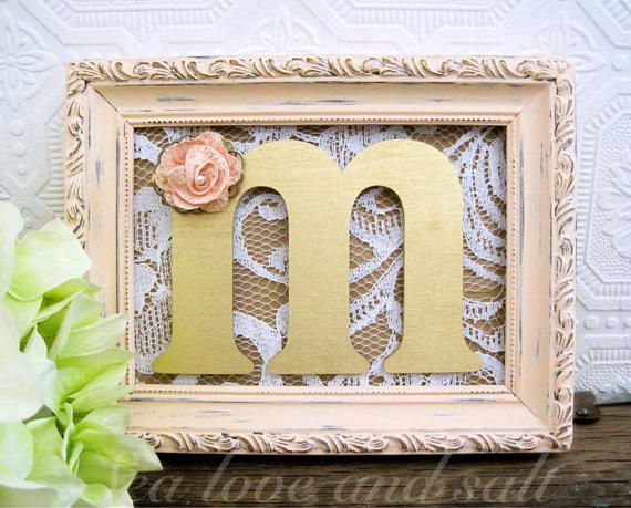 Personalized Bridal Shower Decorations
