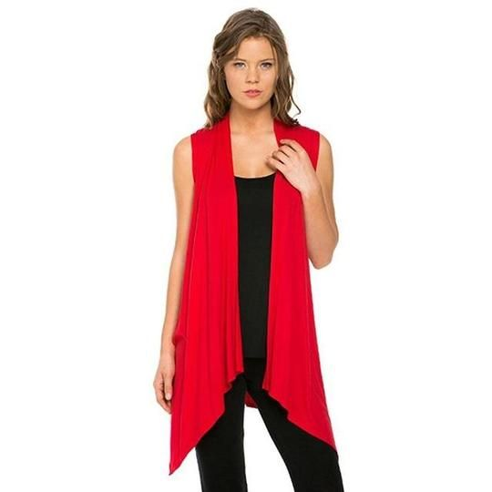 Autumn Cardigan Female Sweater Women 2017 Spring Open Stitch Top Sleeveless Cardigan Asymmetrical Hem Long Plus Size Vest Poncho