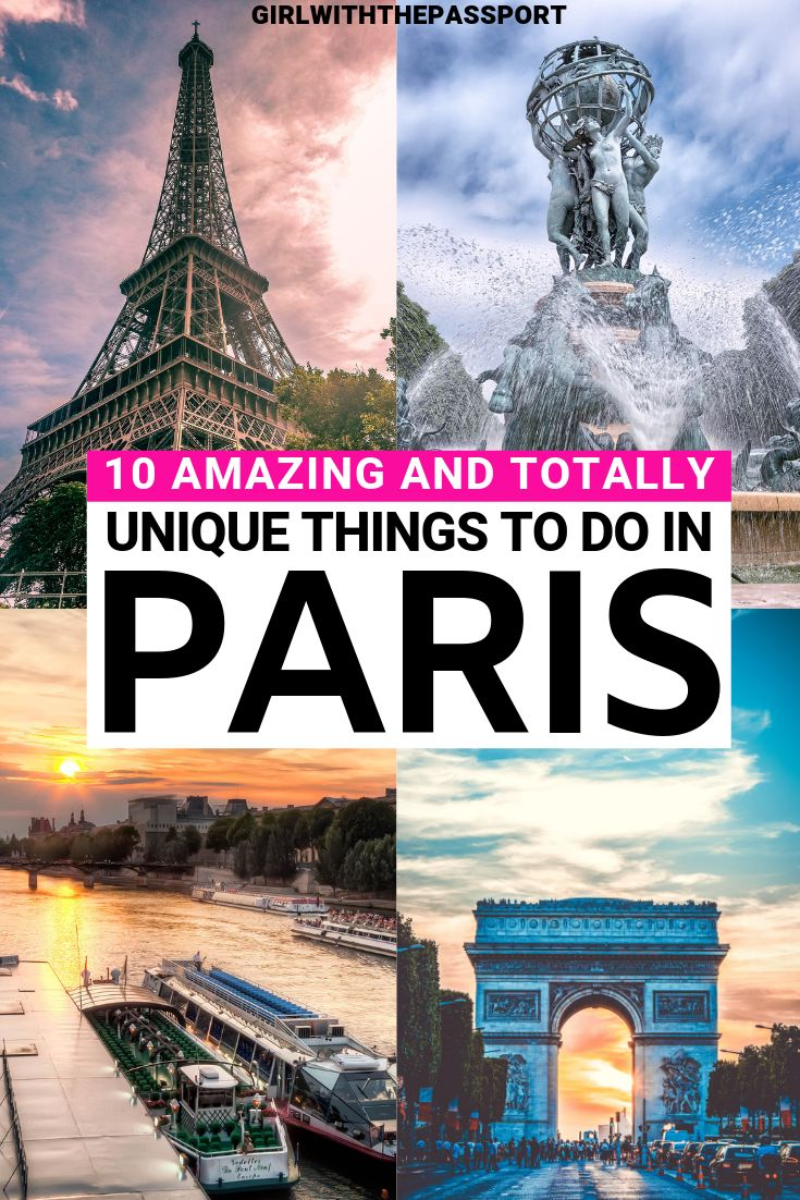 10 Amazing and Totally Unique Paris Attractions