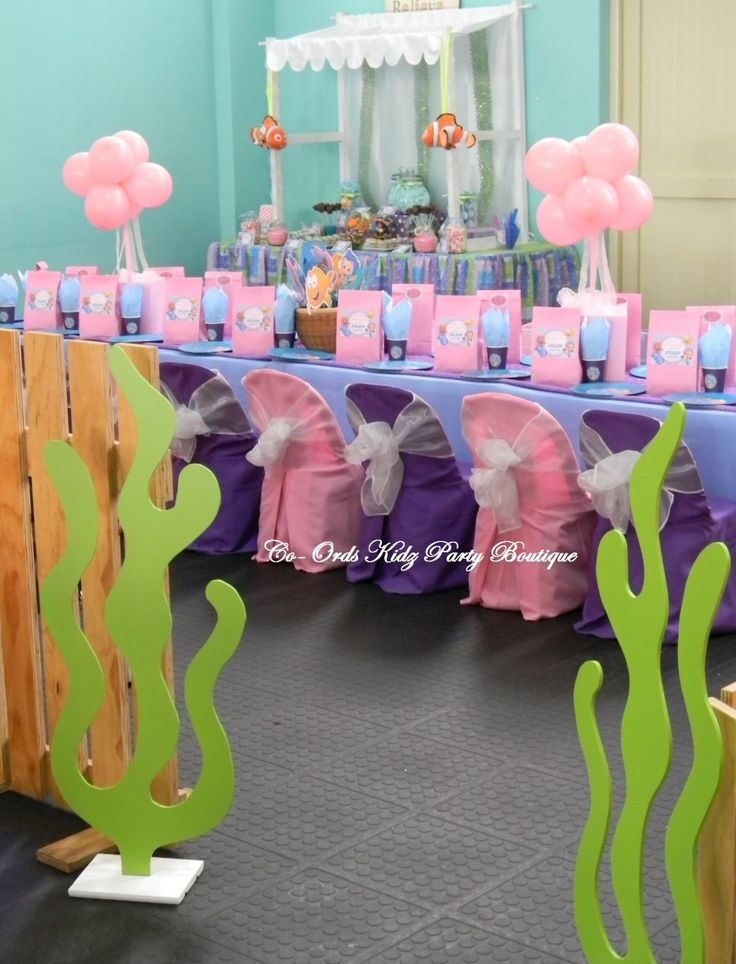 Bubble Guppies party by Co-Ords Kidz Party Boutique