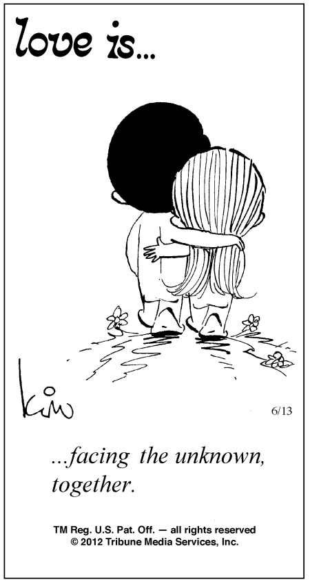 Love Is Cartoons by Kim | Love Is ... Comic Strip by Kim Casali (June 13, 2012)