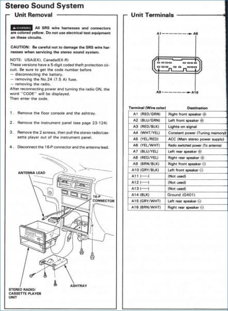 Image Result For Vauxhall 2010 1996 Honda Odyssey Wiring Diagram Honda Accord Acura Integra Honda