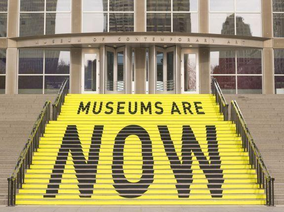 #signage #Steps_Museum of Contemporary Art Chicago