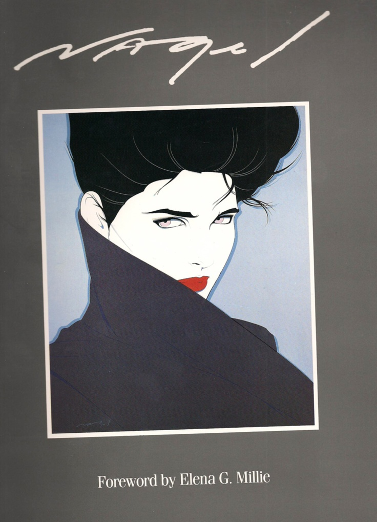 PATRICK NAGEL ART....i have this book. Excellent.