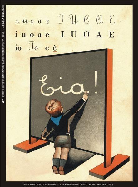 """""""Sillabario e piccole letture"""" - La libreria dello Stato - Roma 1930 / """"Spelling and small reading"""" - The State Library"""