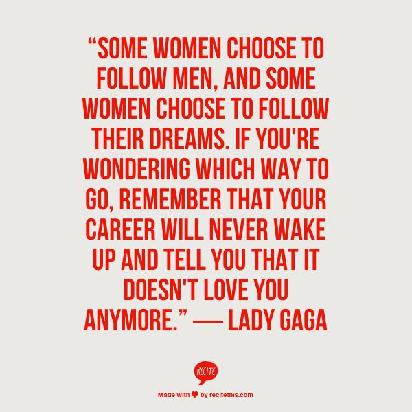 lady gaga quotes career - photo #9