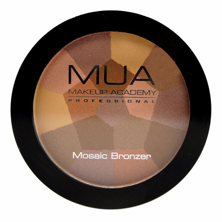 Oh my. How beautiful are these? MUA's Mosaic Bronzers come in two different shades, a more golden tone and one with pink undertones.
