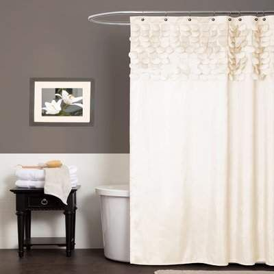 Simple And Yet Elegant Neutral Shower Curtain Showercurtain Bath Ad Bathroomideas