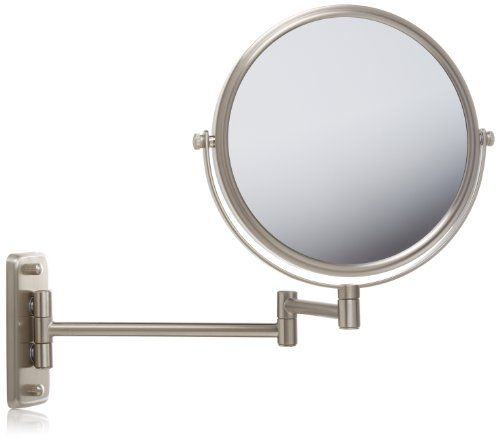 To see the stitches on the back of your head .Jerdon JP7506N 8-Inch Two-Sided Swivel Wall Mount Mirror with 5x Magnification,