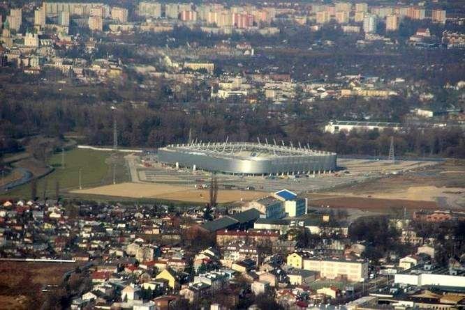 Stadion Motor Lublin, marzec 2014 r. fot. Dziennik Wschodni