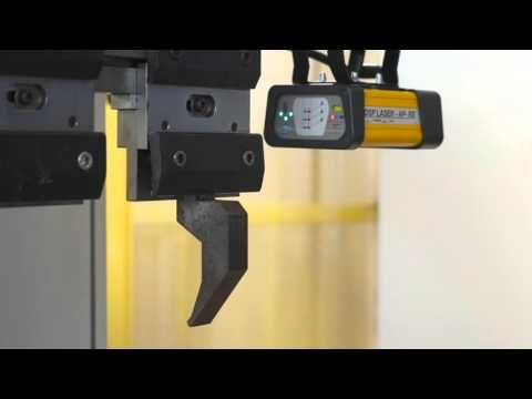 Automatic Brakets for press brake safety device - YouTube