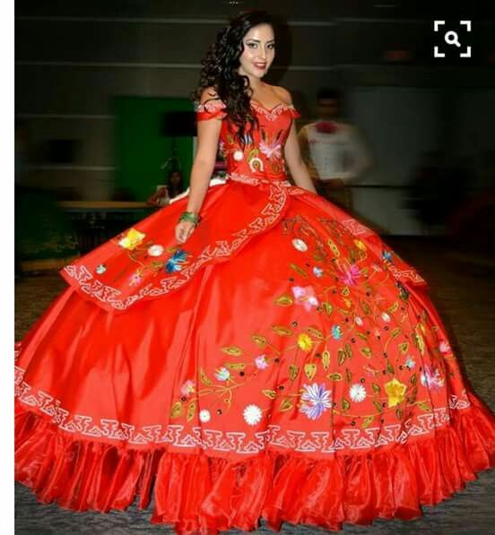 Mexican Flag Gown