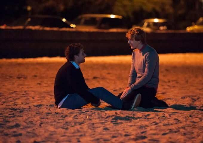 Josh and Arnold from Please Like Me. There is something ridiculously sweet about this couple. It took me a bit of time to warm up to them, but they won me over in the recent Season 2 finale.
