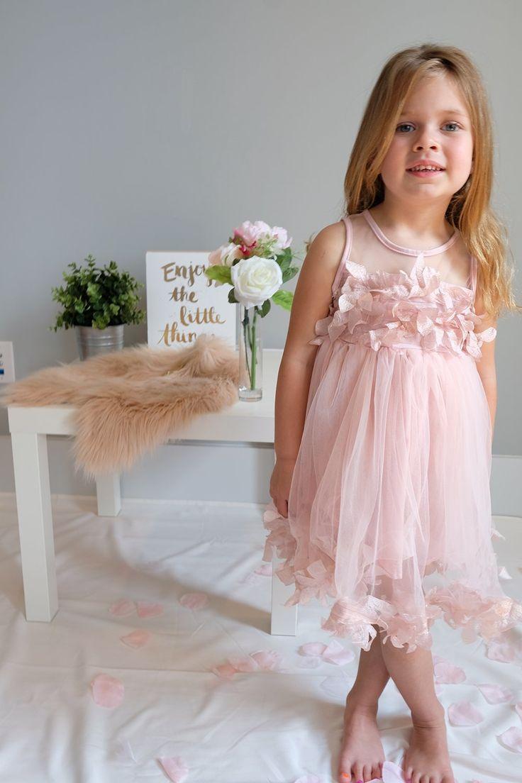 """""""The Bella"""" Flower Girl Dress"""